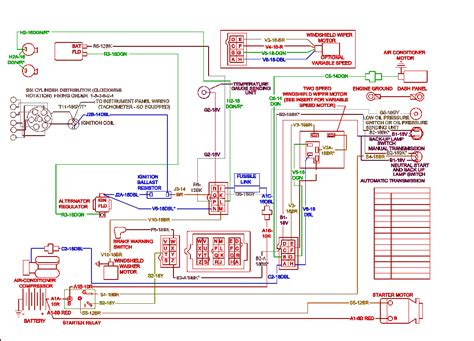 Electrical diagrams for Chrysler, Dodge, and Plymouth cars