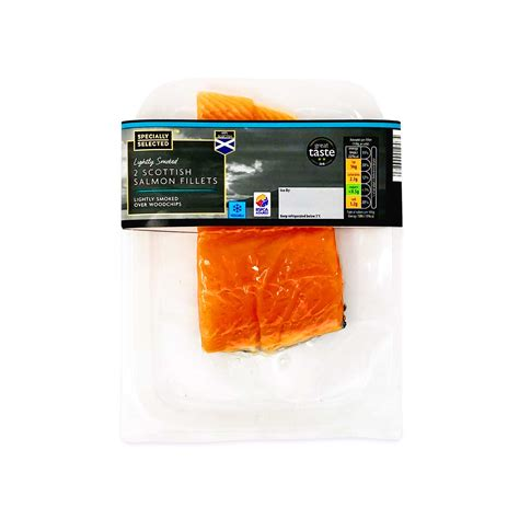 Specially Selected Lightly Smoked 2 Scottish Salmon