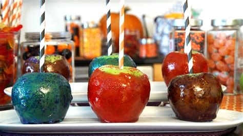 Glittery Candy Apples - TODAY
