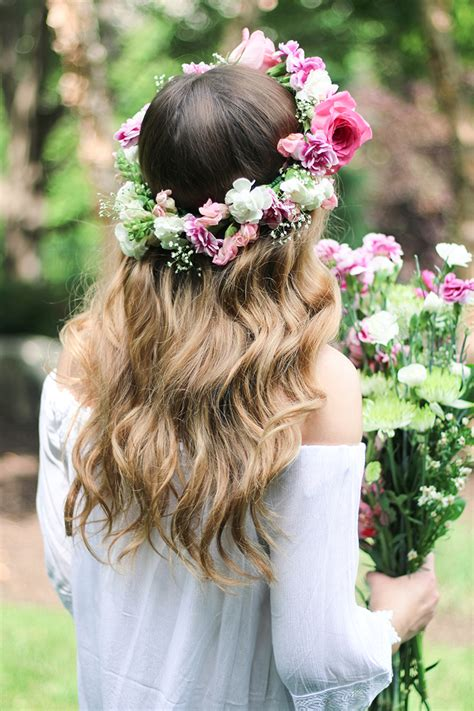 REAL Flower Crown | DIY | daily dose of charm