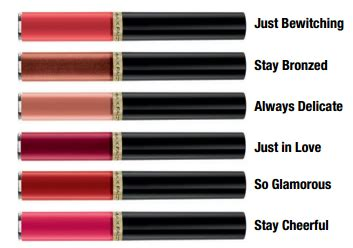 Max Factor Lipfinity: New Shades and Stay Cheerful Review
