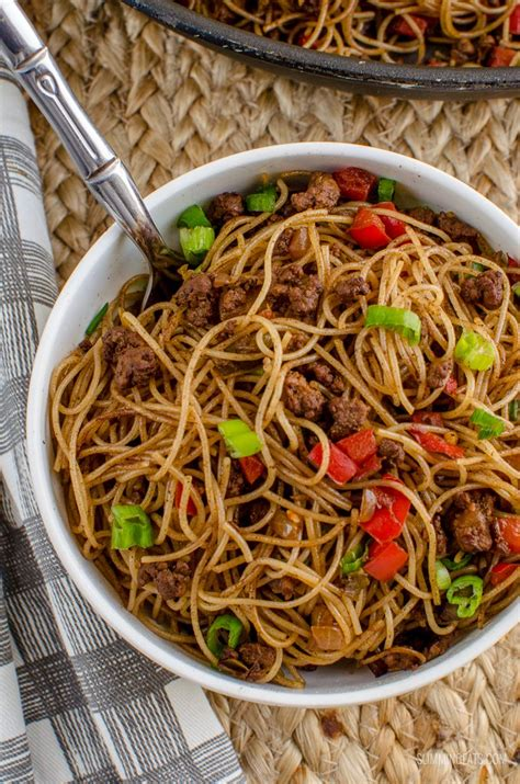 Syn Free Chilli Beef Noodles   Slimming World Recipes