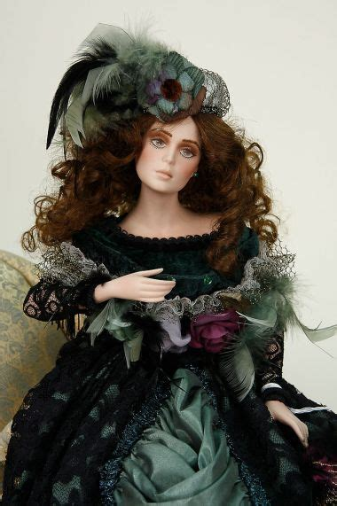 Zoe - porcelain soft body limited edition collectible doll