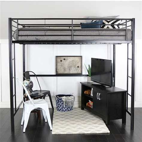 Best Full Size Loft Beds For Adults and Heavy People