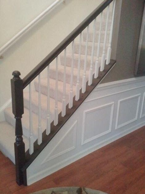 How to Paint Stair Railings • Snazzy Little Things