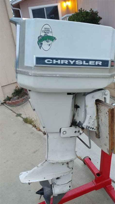Chrysler 55 hp outboard motor for Sale in Chula Vista, CA