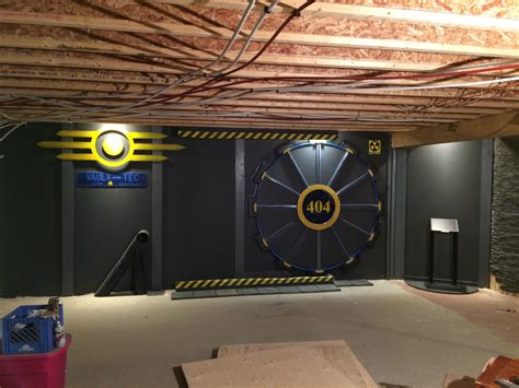 Fan builds real-life Fallout vault door for gaming room