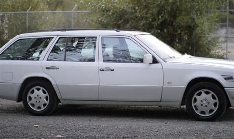 Mercedes-Benz 300-Series Wagon 1991 White For Sale