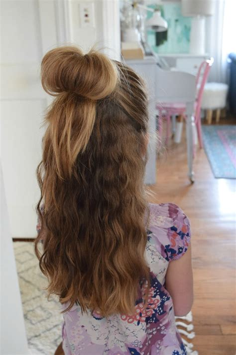Love your Hair- Easy Hairstyles with Dove - Nesting With