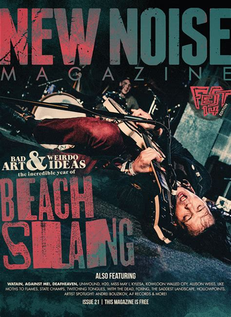 Issue 21 – Beach Slang cover small