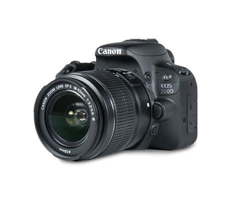 Buy CANON EOS 200D DSLR Camera with EF-S 18-55 mm f/3