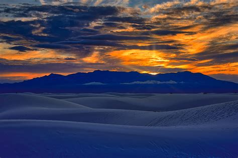Photographs of White Sands National Monument in New Mexico