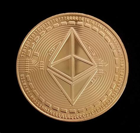 Gold/Silver-Plated Ethereum Coin – EmporiaX Global Marketplace