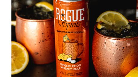 Rogue Wows with Whiskey Mule Sparkling RTD - Hard Seltzer News