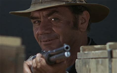 Ernest Borgnine as Dutch Engstrom in The Wild Bunch