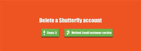 How to delete a Shutterfly account? - AccountDeleters