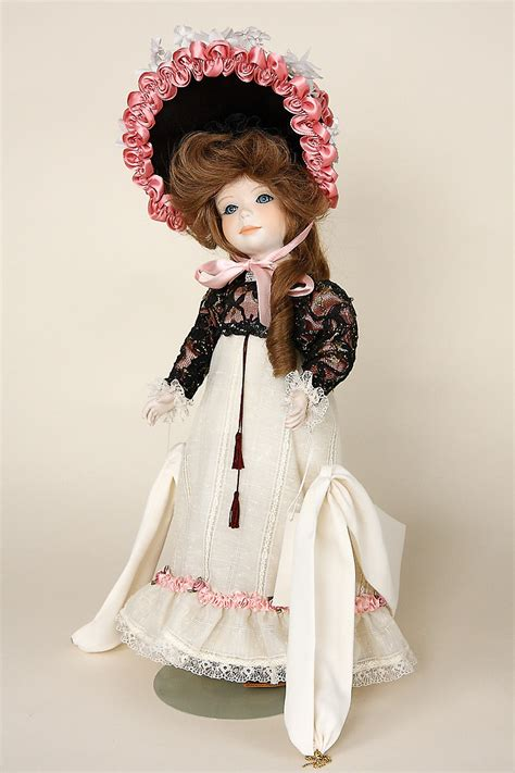 Sylvie - porcelain limited edition collectible doll by