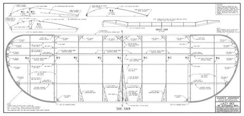 Lazy Bee 48 wing Plans - AeroFred - Download Free Model