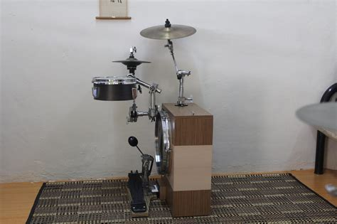 Peter Lau's Innovative Compact Drum Kits - CompactDrums
