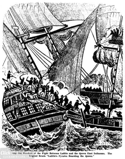 Pirate Jean Lafitte was known as The Terror of the Gulf of