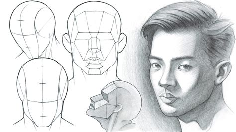 Portrait Drawing Fundamentals Made Simple - How to Draw