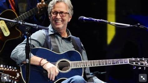 Eric Clapton Navy Blues Guitar by C