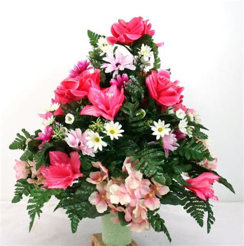 Father's Day Cemetery Vase Flower Arrangement by