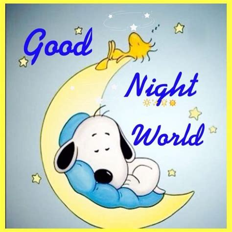 Good Night World Pictures, Photos, and Images for Facebook