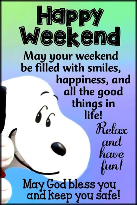 Snoopy Happy Weekend Quote Pictures, Photos, and Images