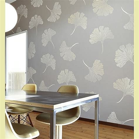 Stenciled Wall Ideas – Sunlit Spaces | DIY Home Decor