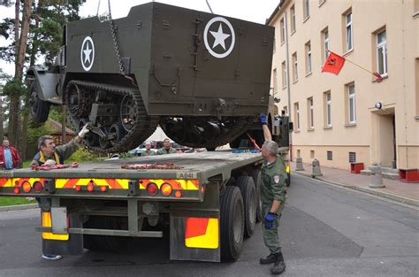 Historic M3 vehicles leave USAG Bamberg | Article | The
