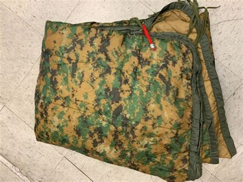 USMC MARPAT WET WEATHER PONCHO LINER WITH ZIPPER NSN8405