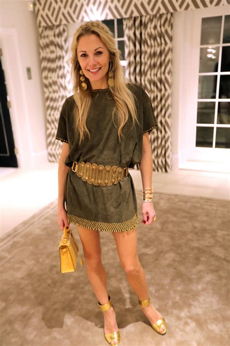 What They're Wearing: Caroline Stanbury's Pool Party