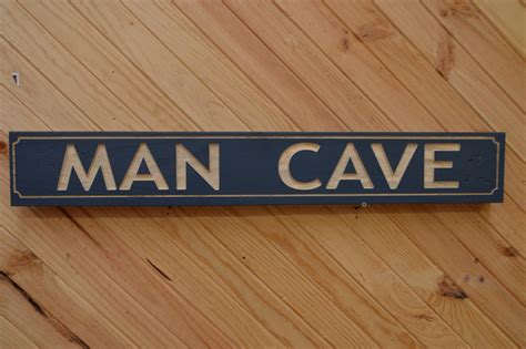 Wood Signs Man Cave Sign Australian-Made Wooden Playground
