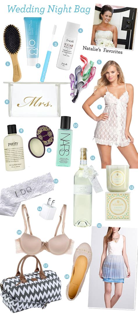 Fabulous Finds: What to Pack For Your Wedding Night