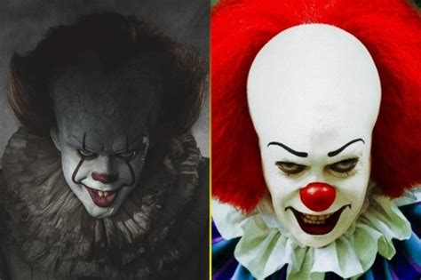 Which version of Pennywise is scarier, the British actor
