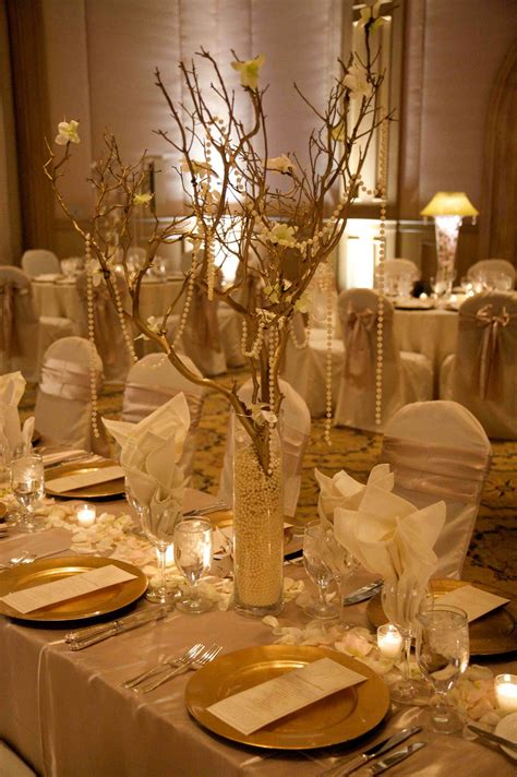 creating the splashes of gold   50th wedding anniversary