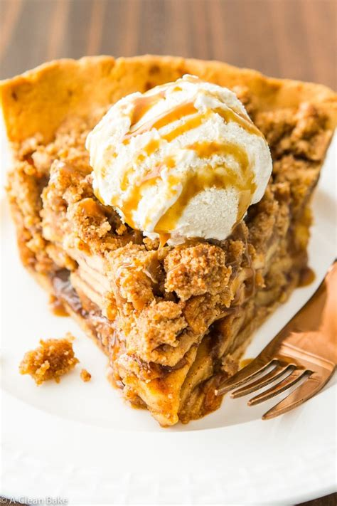 Paleo Apple Pie with Crumb Topping (Dutch Apple Pie) | A