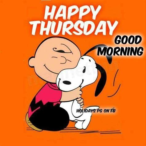 Happy Thursday | Snoopy funny, Snoopy quotes, Charlie