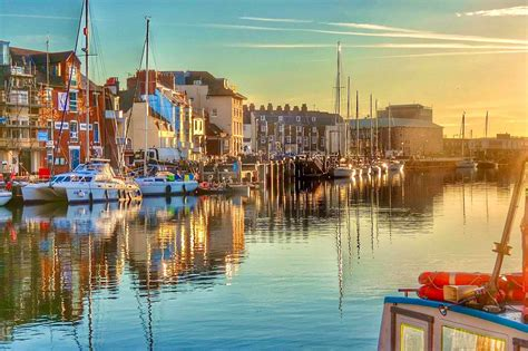 Quayside View - Weymouth Harbourside - Weymouth Tourist