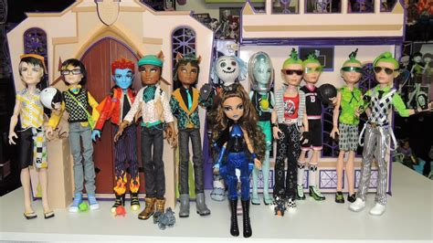 Monster High Boys Doll Collection By WookieWarrior23 - YouTube