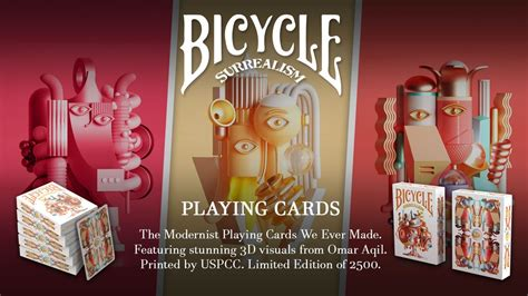 Bicycle Surrealism Playing Cards by Riffle Shuffle Creator