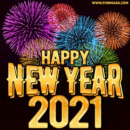 Happy New Year 2021 GIF - Get The Best New Year Animated
