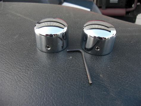 Front Axle Nut Covers (Chrome) - Harley Davidson Forums