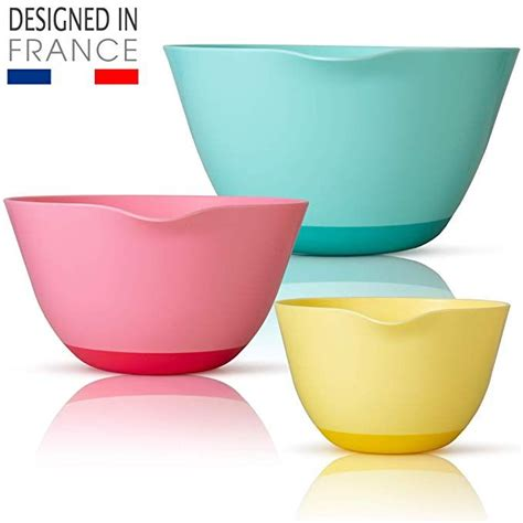 (Sale Ends Dec 25) New French Designed Mixing Bowl Set