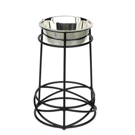 Tall Mesh Elevated Dog Bowl - Extra Large
