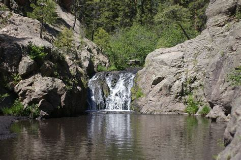 Stay At New Mexico's Magical Waterfall Campground