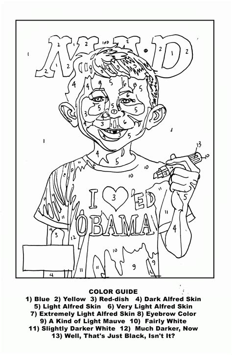 Hard Color By Number Coloring Pages - Coloring Home