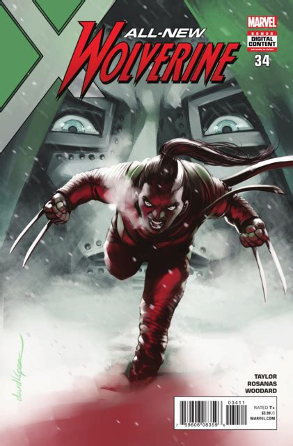 All-New Wolverine #19 - Immune Part 1 of 3 (Issue)