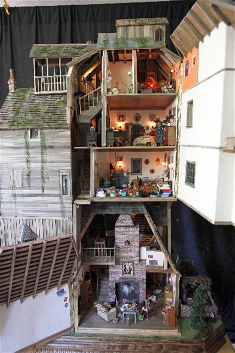 The Burrow, a miniature collection